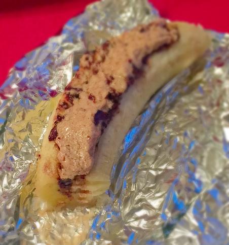 Choco Almond Butter Banana Treat 4