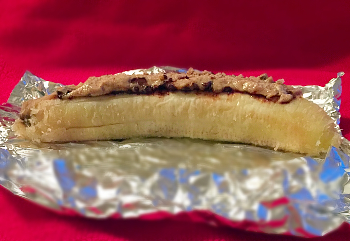Choco Almond Butter Banana Treat