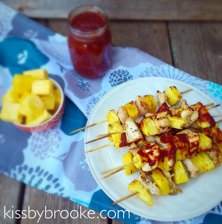 Chix Pineapple Kabobs