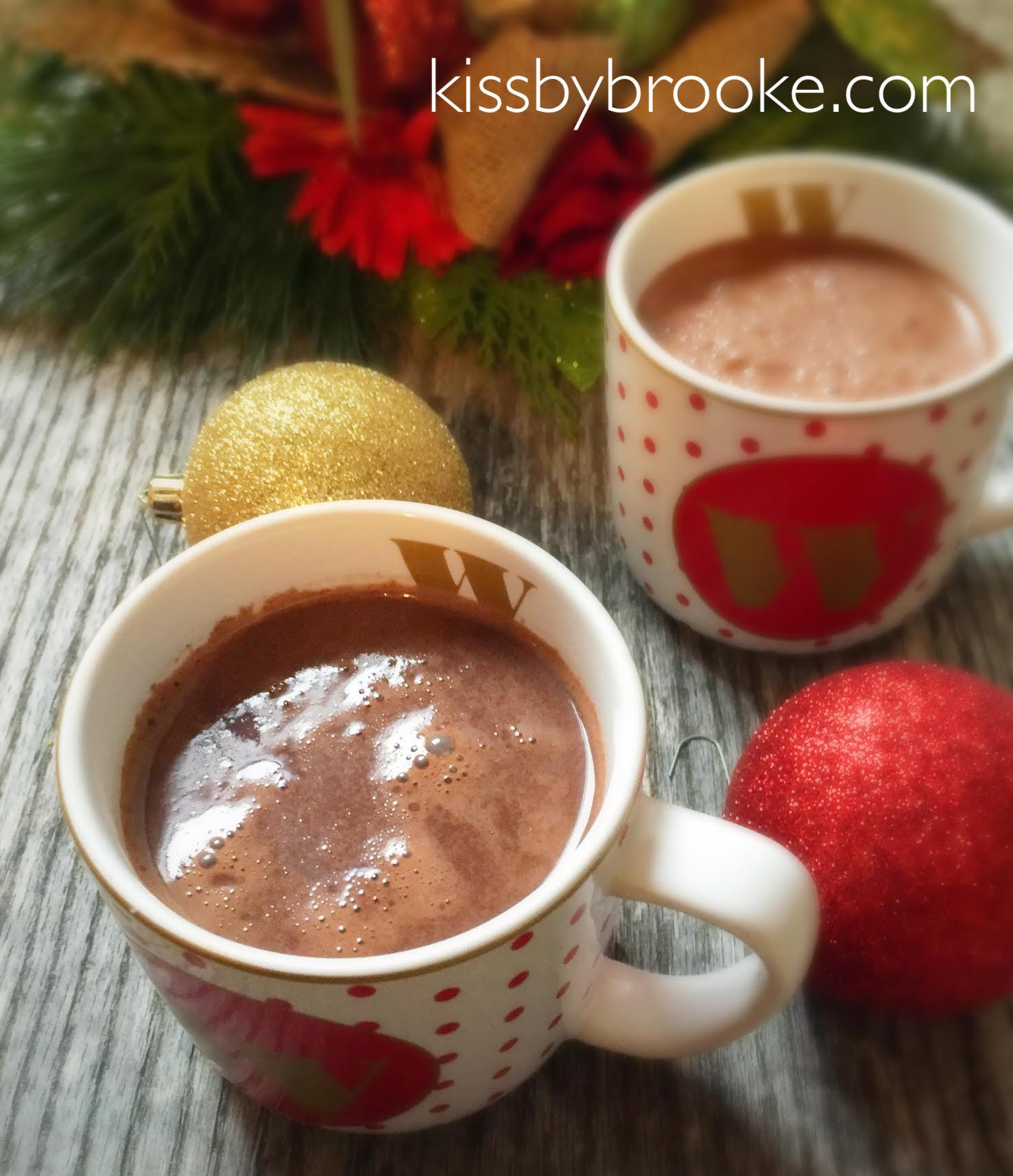 Homemade Hot Chocolate – Kiss by Brooke
