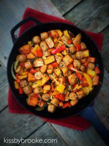 Chicken Sausage Dish