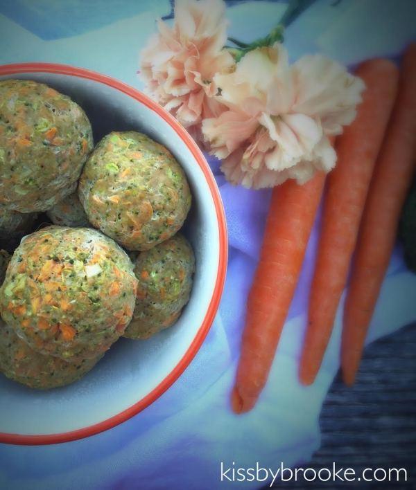 Turkey Vegetable Meatballs