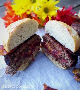 PB&J Burger with Bacon