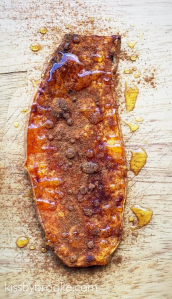 Sweet Potato Toast with Cinnamon and Honey