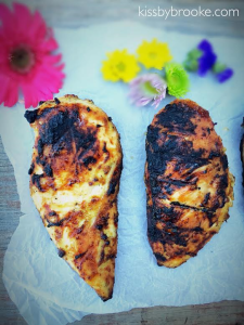 Marinaded Grilled Chicken Breasts